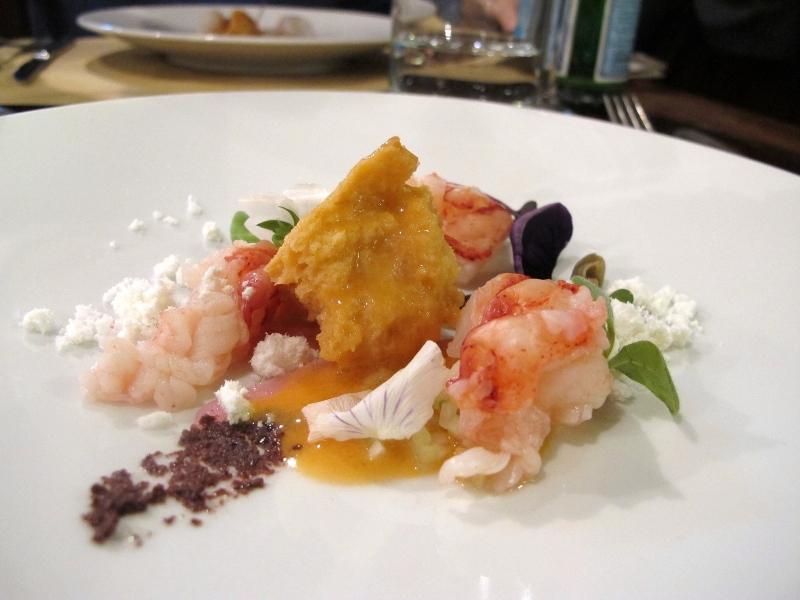 panzanella di astice, Al Pont De Ferr, Chef Matias Perdomo, Milano
