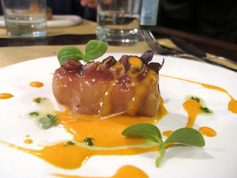polpo patate e chorizo, Al Pont De Ferr, Chef Matias Perdomo, Milano