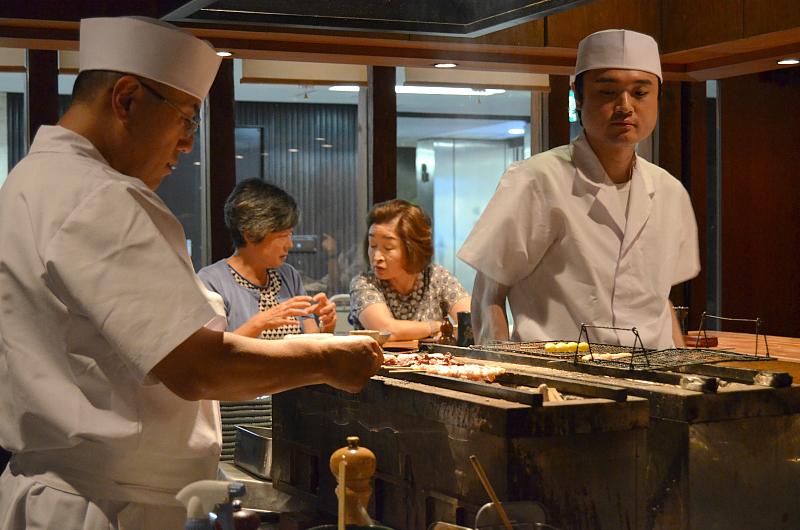 chef, Yakitori Bird Land, Tokyo, Giappone