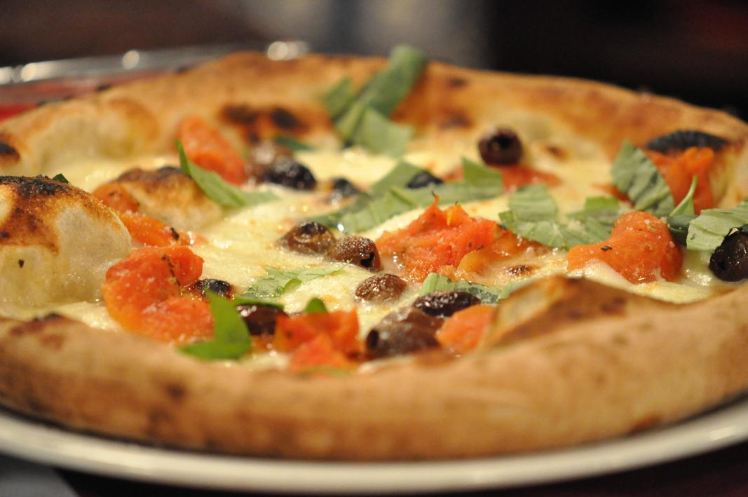 pizza, pomodoro confit, Pizzeria Du de Cope, Perbellini, Verona