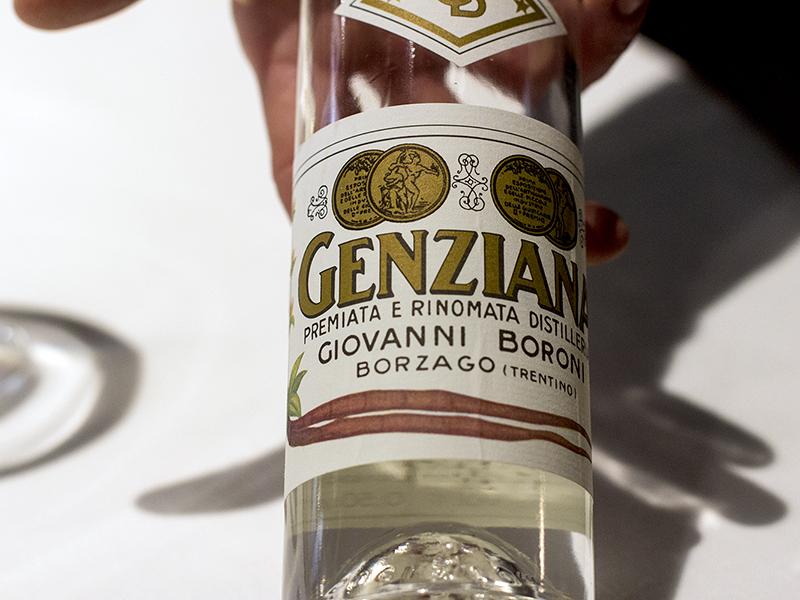 Genziana, Osteria Francescana, Chef Massimo Bottura, Modena