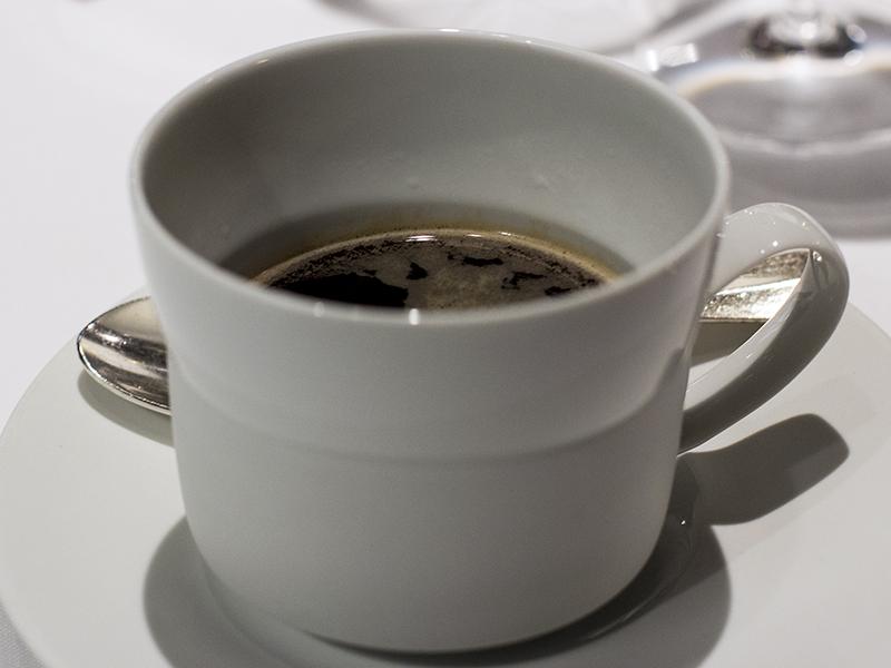 caffè lungo, Osteria Francescana, Chef Massimo Bottura, Modena