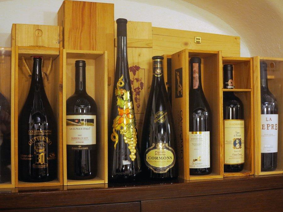 vino, Ristorante Leon D'Oro, Zibello