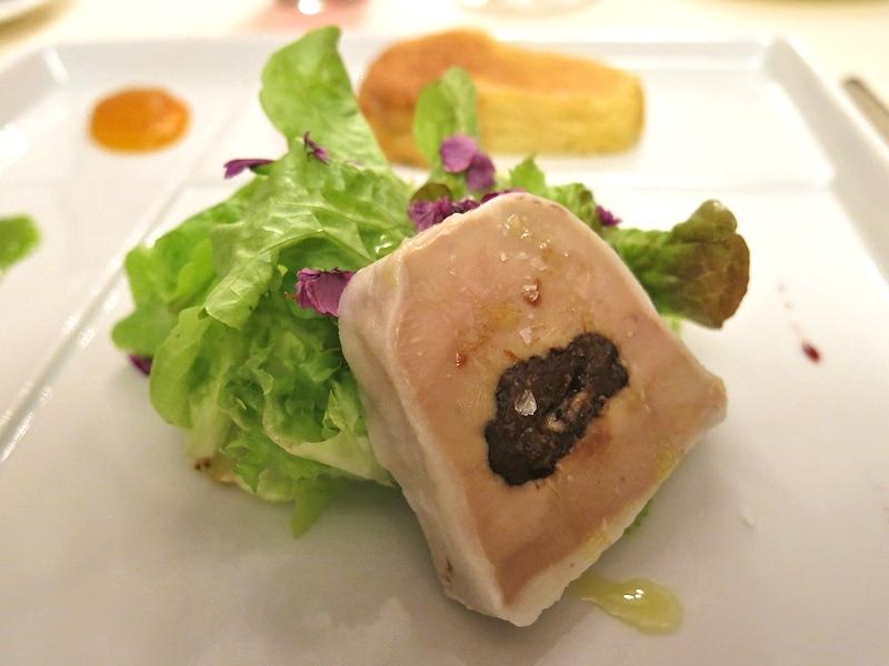 terrina di foie gras, Postale, Chef Marco Bistarelli, Perugia