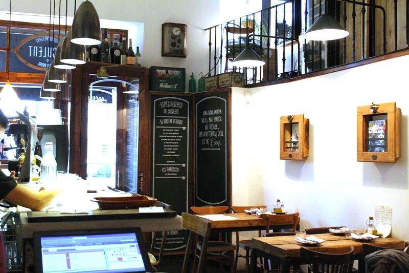 Suculent, Chef Antonio Romero, Barcelona