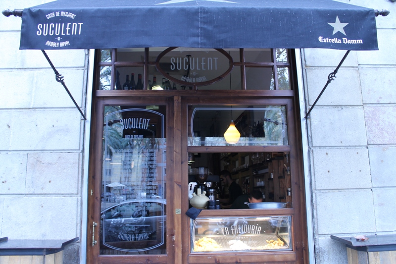 ingresso, Suculent, Chef Antonio Romero, Barcelona