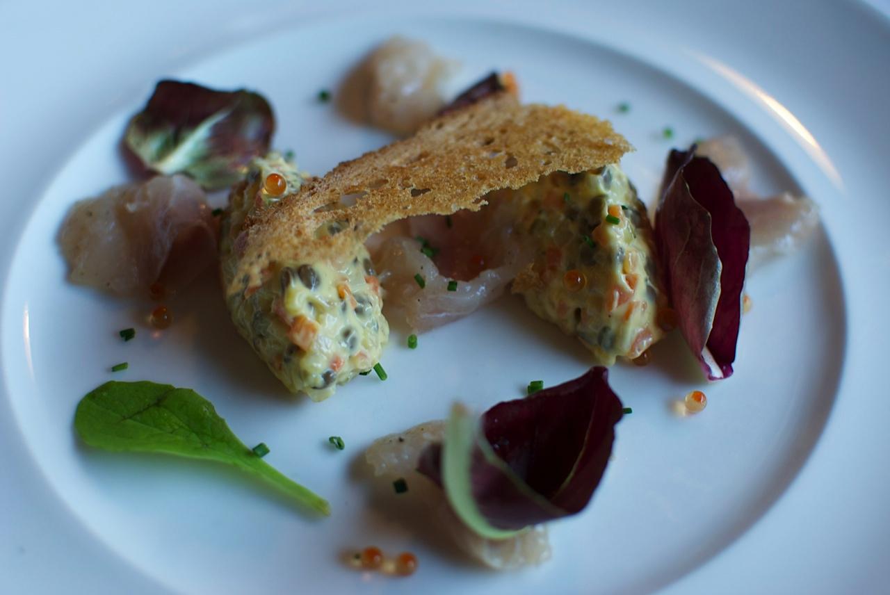 insalata russa di lenticchie, Trattoria del Nuovo Macello, Chef Traversone,Tronconi, Milano