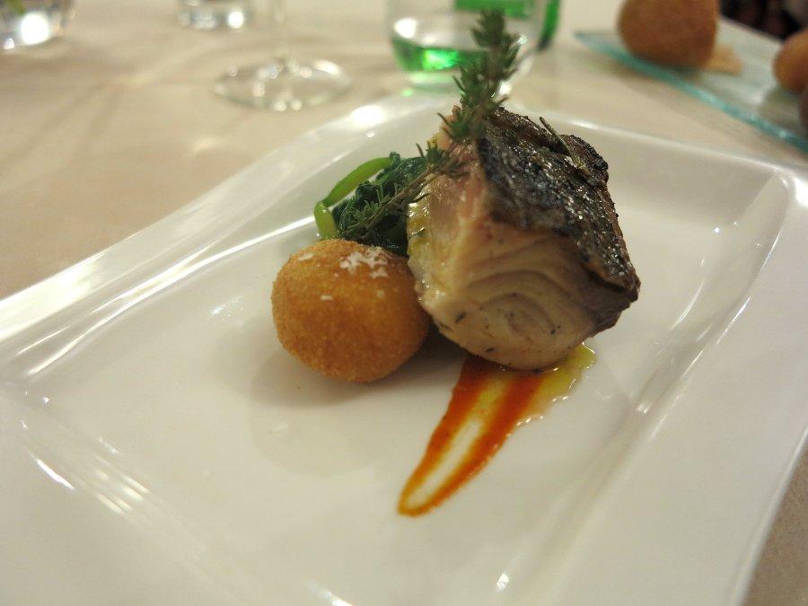 Ricciola, secondo piatto, Tocco, Chef Dario Di Liberto, Ragusa, Sicilia