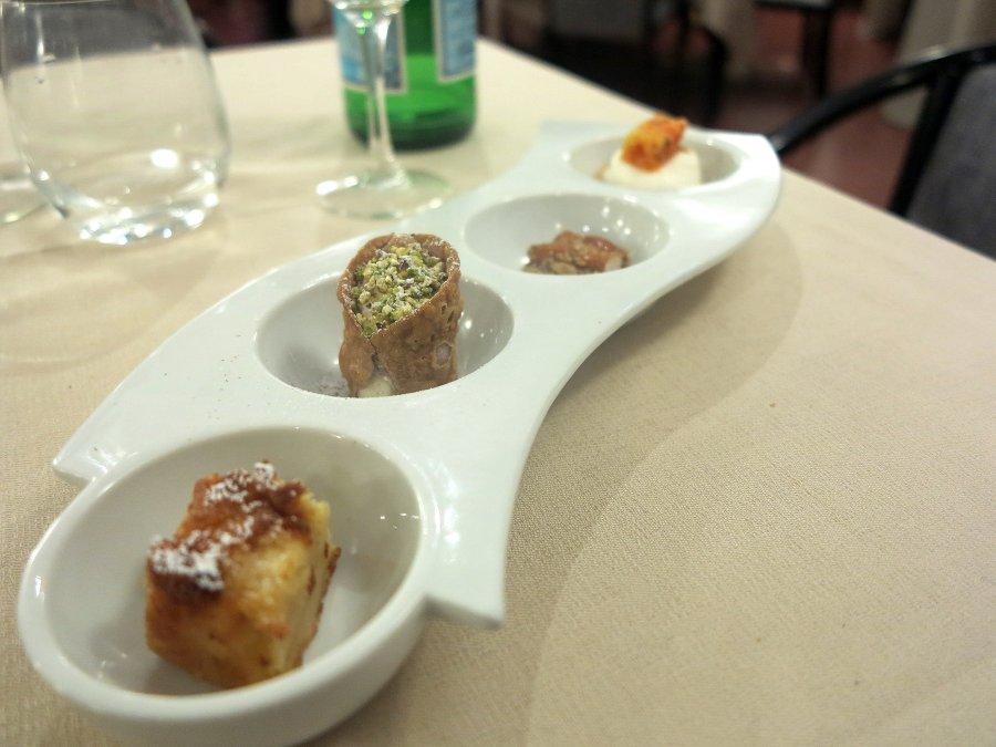 friandises, Tocco, Chef Dario Di Liberto, Ragusa, Sicilia