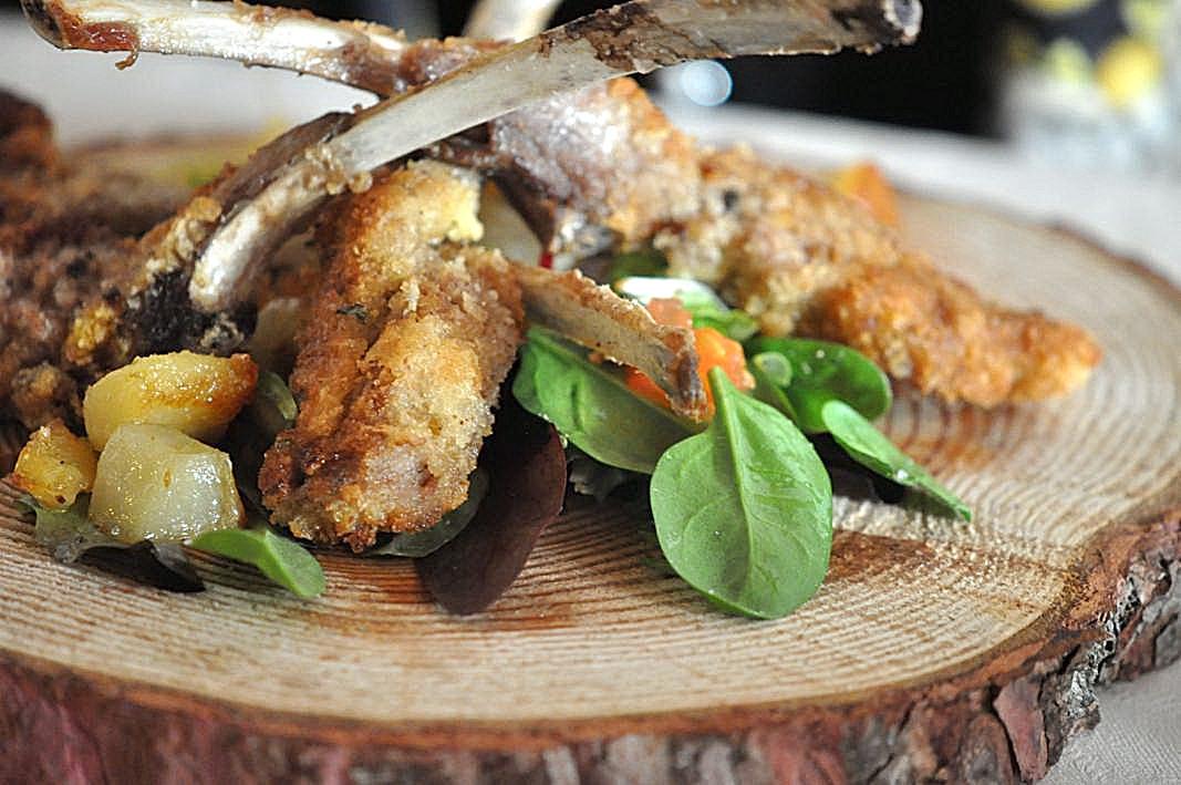 costolette di agnello, Dolada, Chef Riccardo De Prà, Plois, Belluno