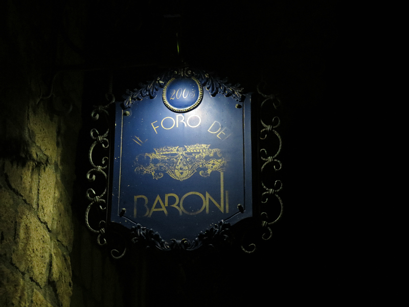 Foro dei Baroni, Chef D'Addio, Puglianello, telese terme
