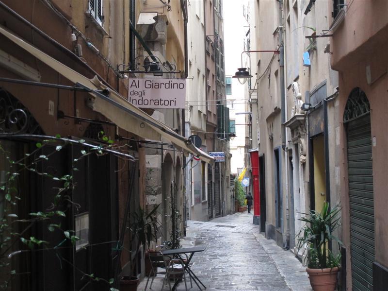 Al Giardino degli Indoratori, chef Badaracco, Genova