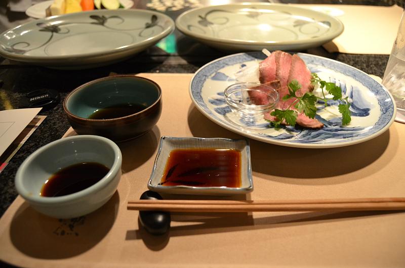 salsa di soia, Wakkoqu, chef Kensuke Sakata, Kobe, Japan