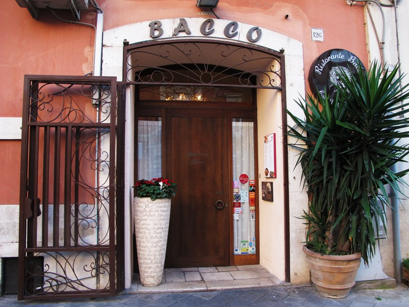 Bacco, chef Angela Campana, Bari
