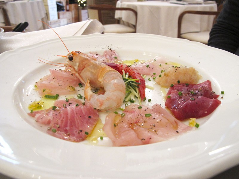 carpacci, Bacco, chef Angela Campana, Bari