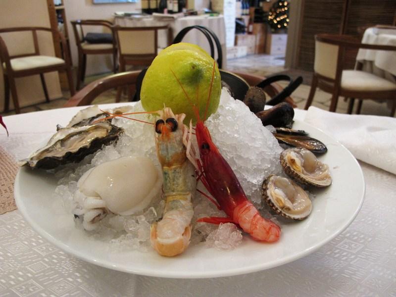 frutti di mare, Bacco, chef Angela Campana, Bari