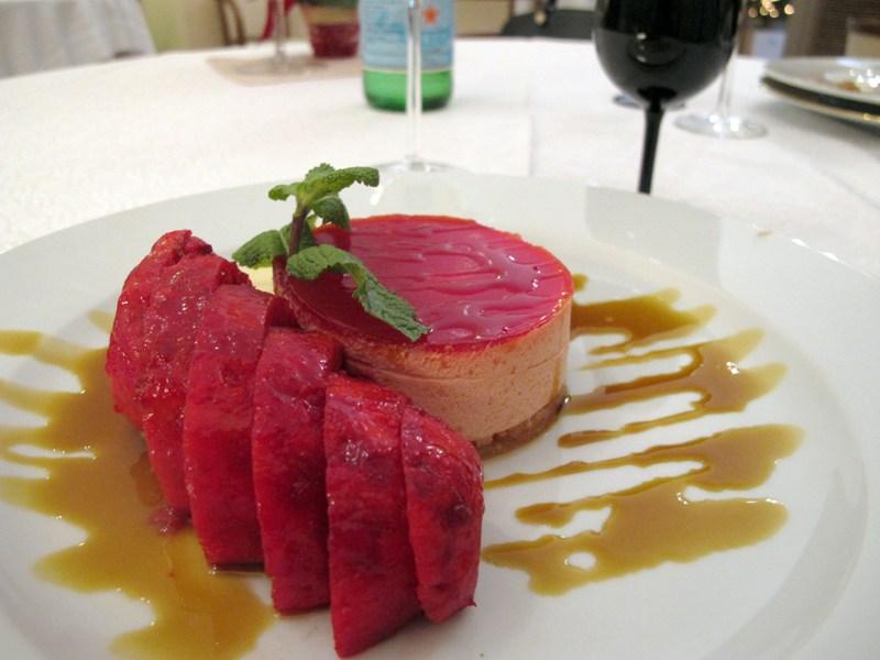 mousse di fichi d'india, Bacco, chef Angela Campana, Bari