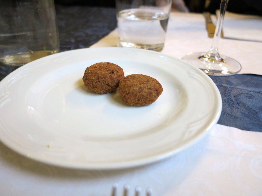 polpette, Caffè La Crepa, Isola Dovarese, Cremona