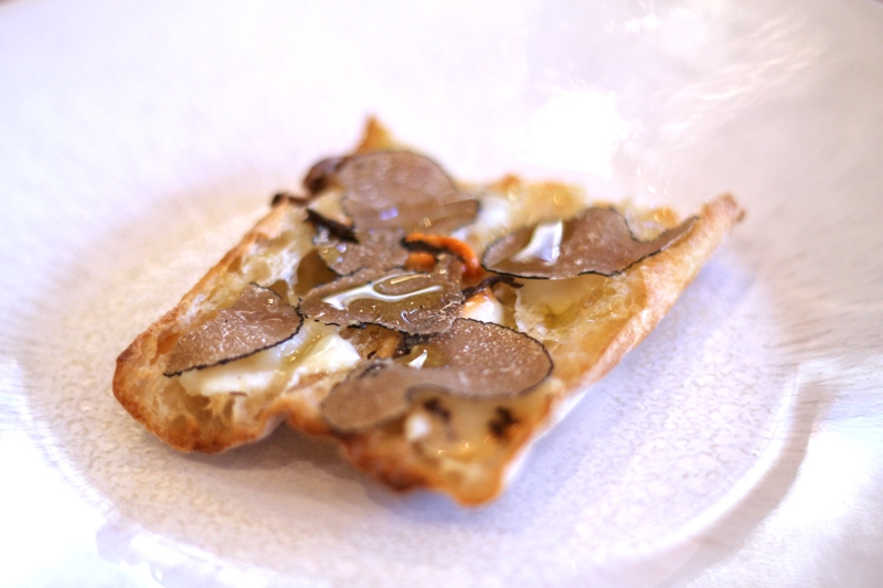 toast formaggio e tartufo, Dabbous, Chef Ollie Dabbous, London
