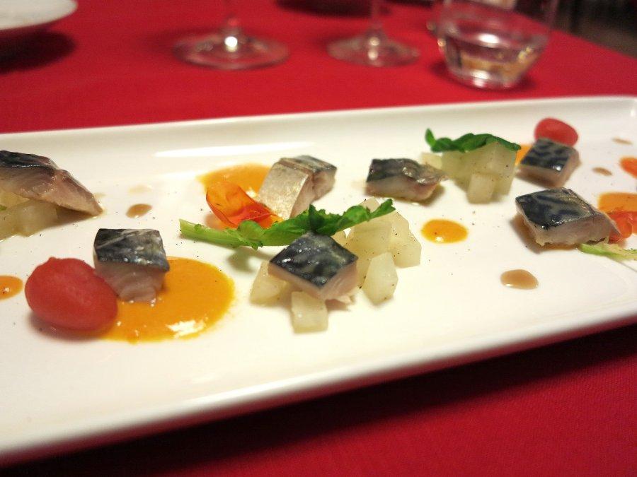 pesce azzurro, Locanda Gulfi, Chef Causarano, Chiaramonte Gulfi