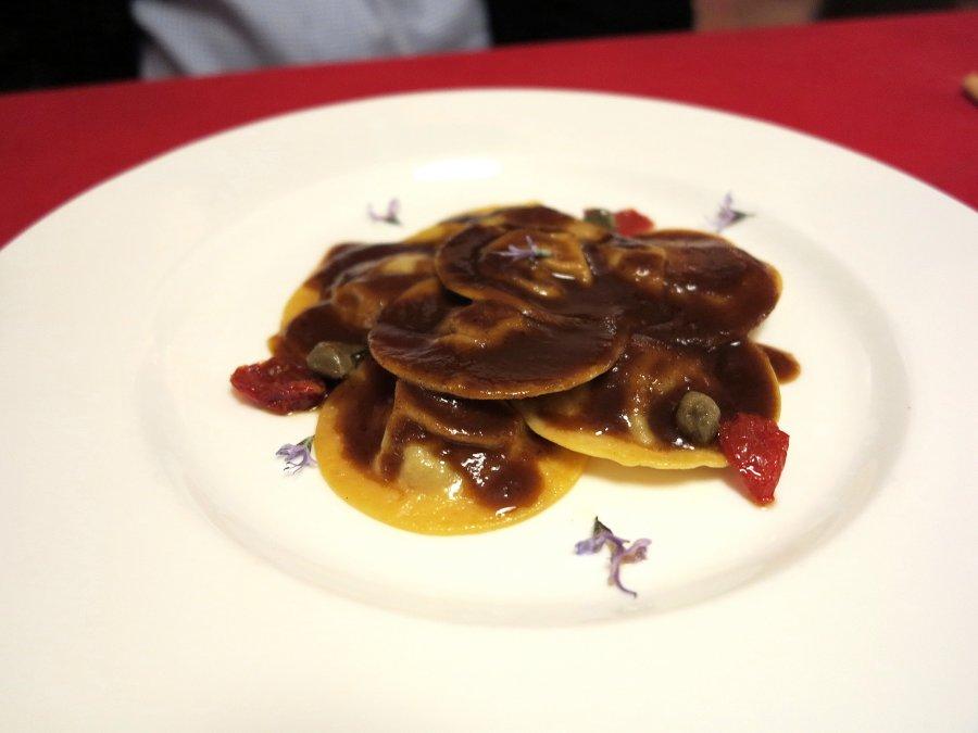 ravioli, Locanda Gulfi, Chef Causarano, Chiaramonte Gulfi