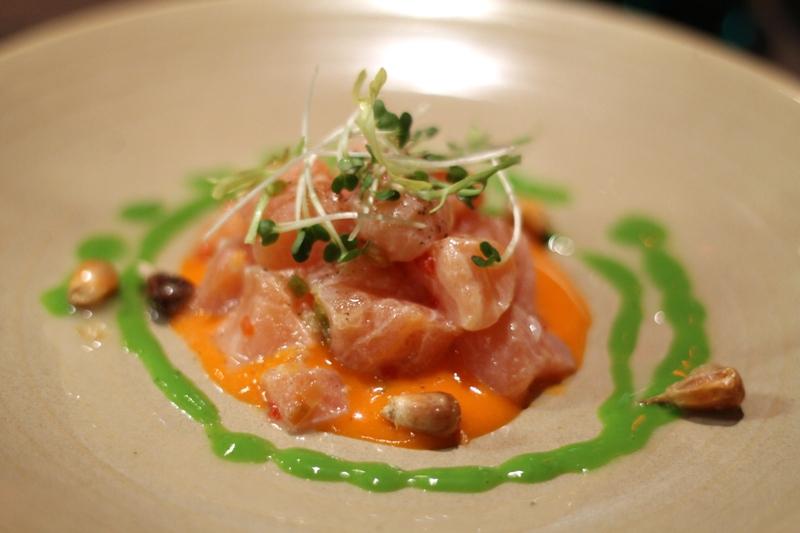 ceviche di salmone, Lima, Chef Robert Ortiz, Virgilio Martinez, London