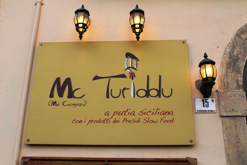 Trattoria Mc Turiddu, Catania, Sicilia