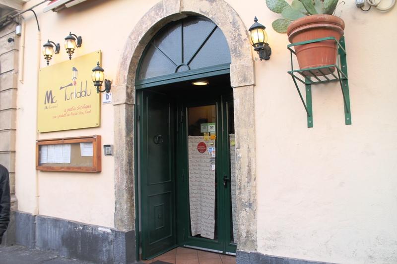 ingresso, Trattoria Mc Turiddu, Catania, Sicilia