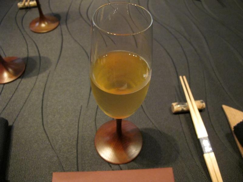 Granita di vino di prugne e spumante, Ryugin, Chef seiji Yamamoto, Tokyo