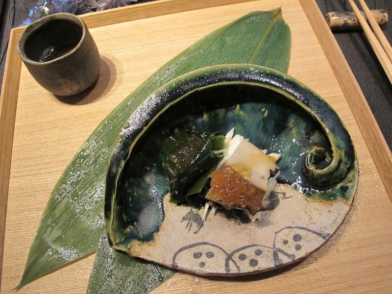 granchio, abalone, Ryugin, Chef seiji Yamamoto, Tokyo