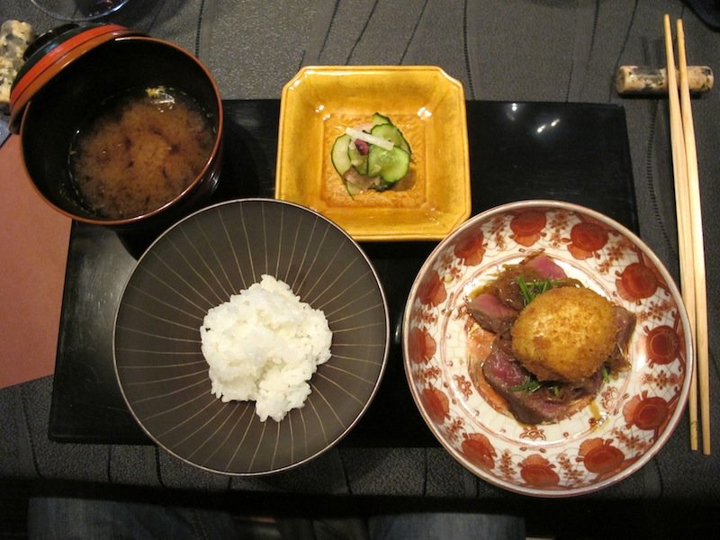filetto di wagyu, Ryugin, Chef seiji Yamamoto, Tokyo