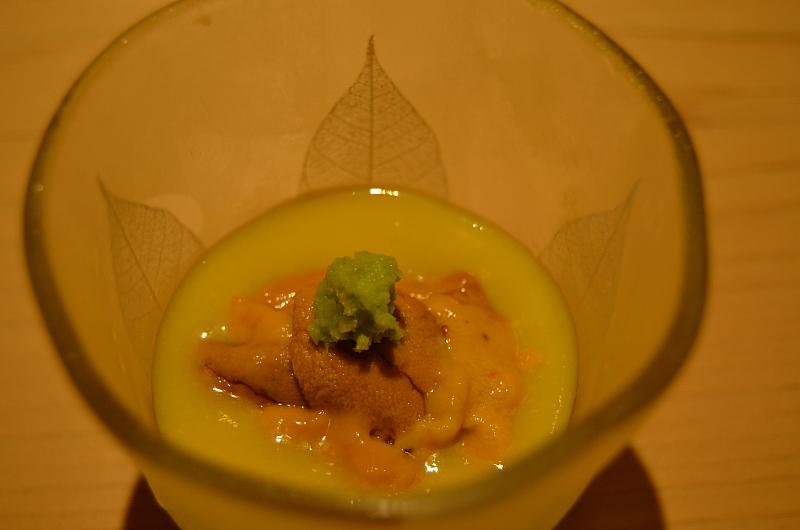 mais ricci, wasabi, Sushi Yoshitake, Matsuhiro Yoshitake, Tokyo, Japan