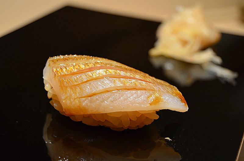 Ay fish, Sushi Yoshitake, Matsuhiro Yoshitake, Tokyo, Japan
