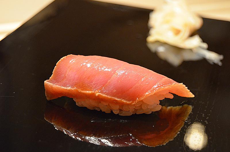 chu toro, Sushi Yoshitake, Matsuhiro Yoshitake, Tokyo, Japan