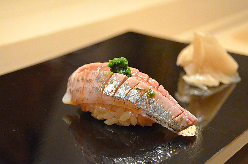 chub, Sushi Yoshitake, Matsuhiro Yoshitake, Tokyo, Japan