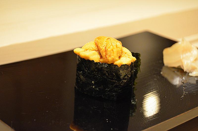 ricci di mare, Sushi Yoshitake, Matsuhiro Yoshitake, Tokyo, Japan