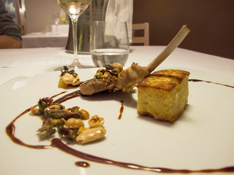 costoletta d'agnello, Mamai, chef Davide Viviani, Milano