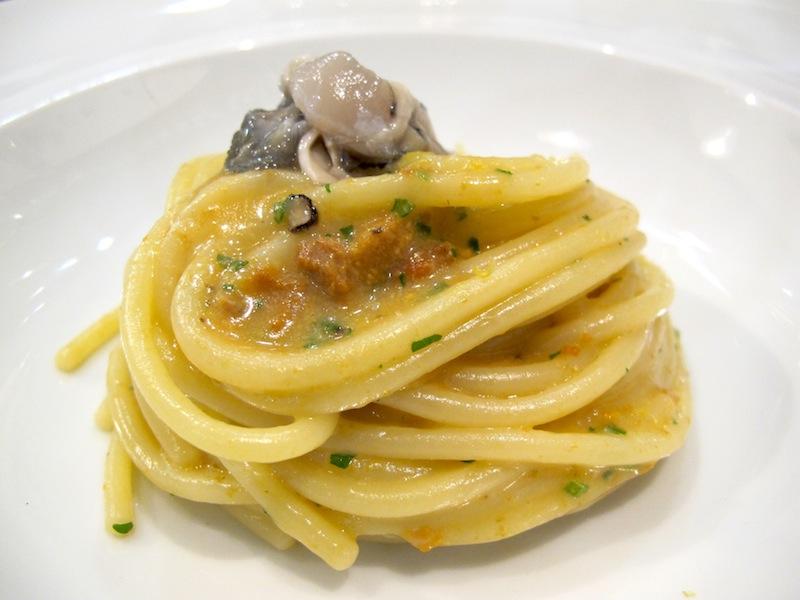 spaghettone, ostriche, Trattoria- Wine Bar Epiro, Roma