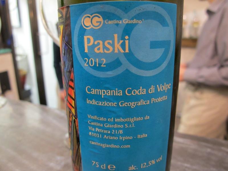coda di volpe, paski, Trattoria- Wine Bar Epiro, Roma