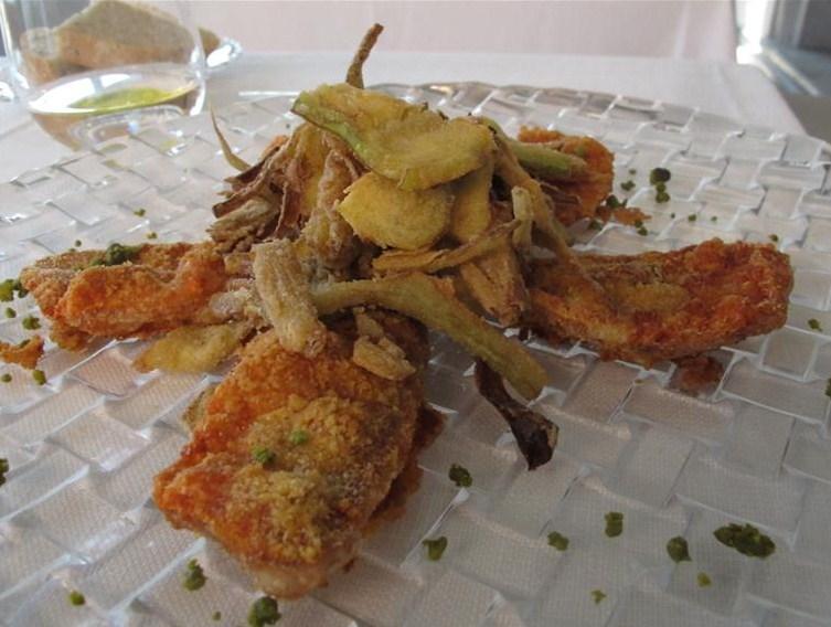 triglie spinate, Il Gabbiano, Chef Paolo Quartero, Alassio, liguria