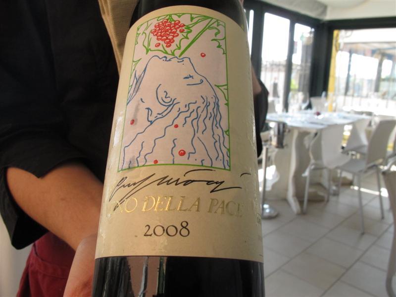 ottimo vino in accompagnamento, Il Gabbiano, Chef Paolo Quartero, Alassio, liguria