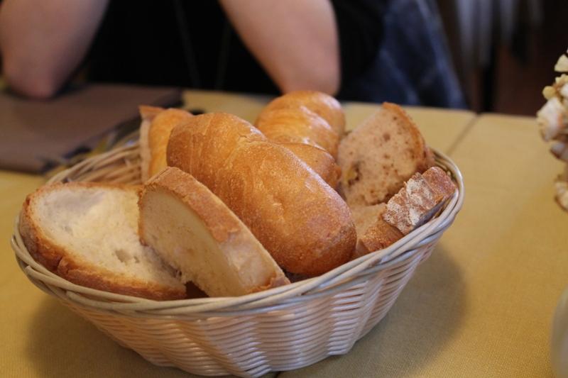 pane, Antica Trattoria del Gallo, Chef Reina, Gaggiano, Milano