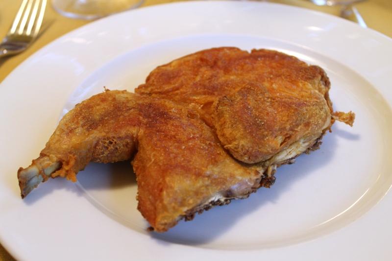 pollo al mattone, Antica Trattoria del Gallo, Chef Reina, Gaggiano, Milano