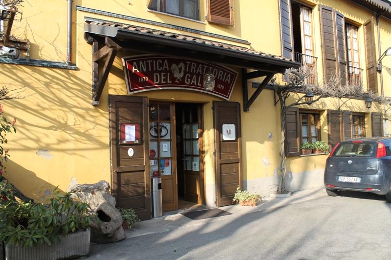 Antica Trattoria del Gallo, Chef Reina, Gaggiano, Milano