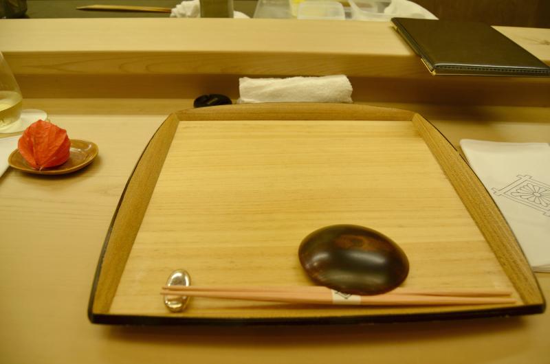 mise en place, Kikunoi Roan, chef Hiroki Maruyama, Kyoto, Japan