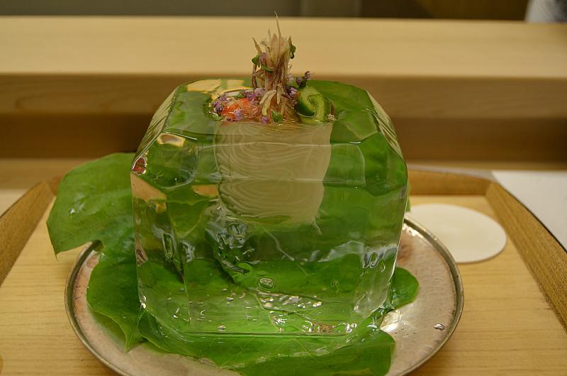 glas noodles, Kikunoi Roan, chef Hiroki Maruyama, Kyoto, Japan