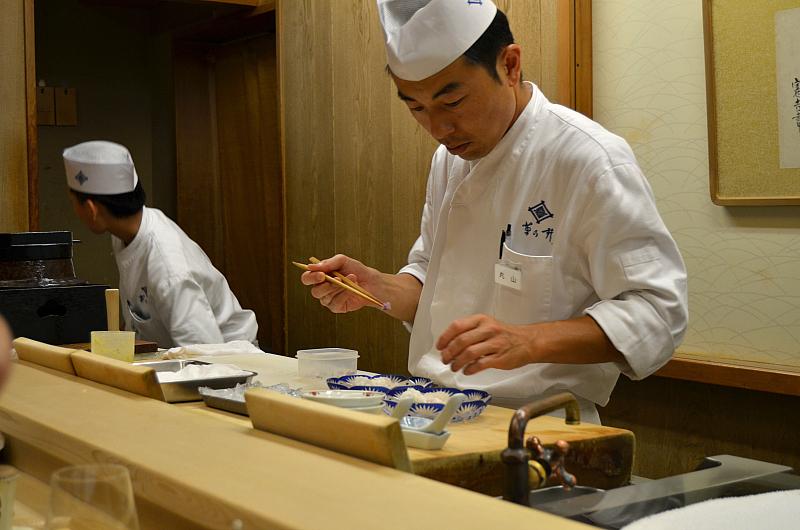 master, Kikunoi Roan, chef Hiroki Maruyama, Kyoto, Japan