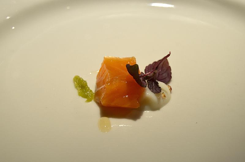 salmone, Antica Osteria Marconi, Potenza