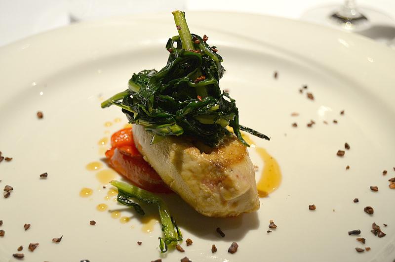 foie gras e peperoni, Antica Osteria Marconi, Potenza
