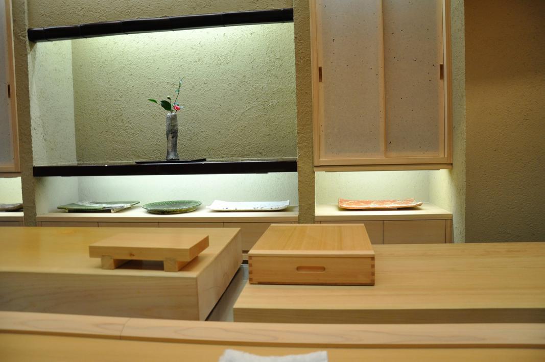 bancone, Okuda, Chef Shun Miyahara, Parigi